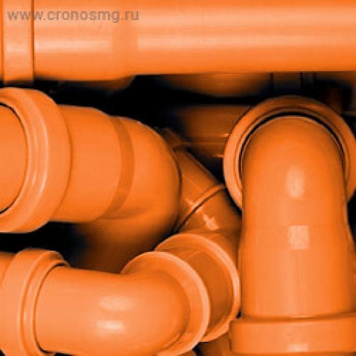 Трубы и фитинги ПВХ для наружной канализации