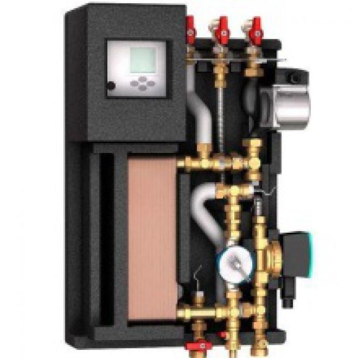 Станция Kompakt Elektronisch с контуром рециркуляции горячей воды. LogoFresh