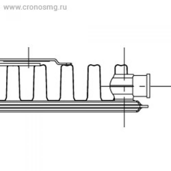 KORADO RADIK KLASIK боковое подключениe Тип 11