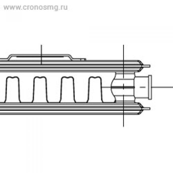 KORADO RADIK VK нижнее подключениe Тип 21