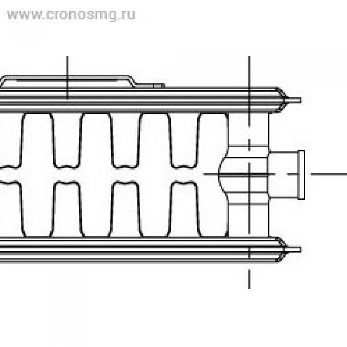 KORADO RADIK VK нижнее подключениe Тип 22