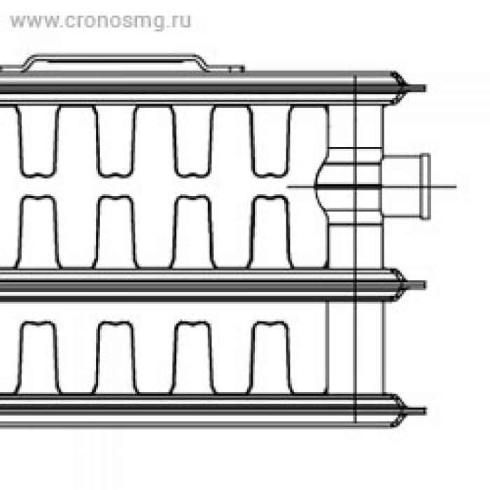 KORADO RADIK VK нижнее подключениe Тип 33