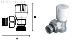 Вентиль ручной угловой ELSEN 3/4''EK — 1/2''H