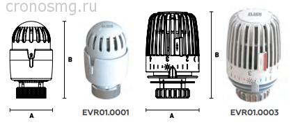 Головка термостатическая ELSEN, М 30 х 1,5