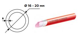 Труба для теплого пола ELSEN PE-Xа