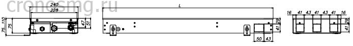 EKQ.240.75 вид сбоку