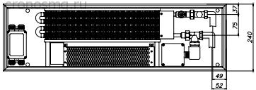 EKQ.240.90, EKQ.240.110, EKQ.240.150, вид сверху