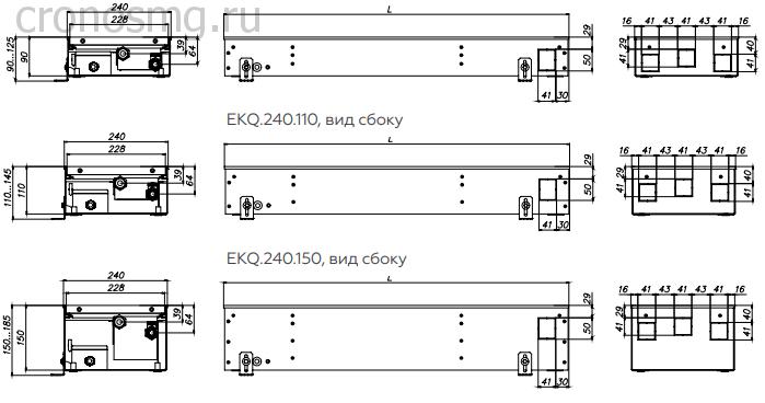 EKQ.240.90, вид сбоку