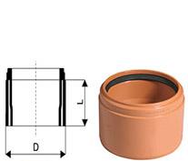 KGUSM – переход на раструб керамической трубы Ostendorf