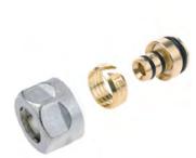 Резьбозажимные соединения ELSEN для PEX/PE-RT и металлопластиковых труб