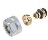 Резьбозажимные соединения ELSEN для металлополимерных труб