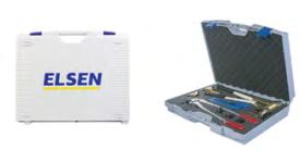 Ручной инструмент для аксиальной запрессовки РЕ-Ха труб ELSEN Набор ручного инструмента ELSEN.