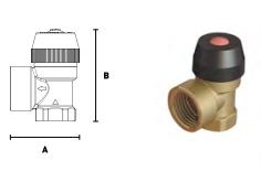 Мембранный предохранительный клапан ELSEN