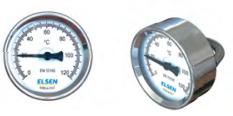 Биметаллический термометр ELSEN накладной